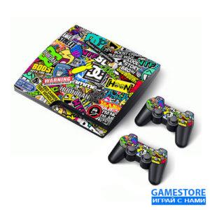 Наклейки для PS3 Slim